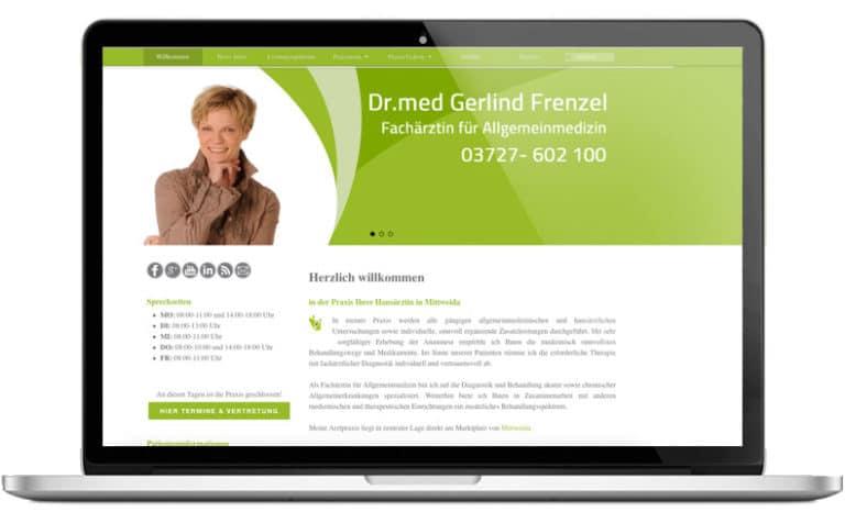 Arzt Webseiten von webprojekt chemnitz