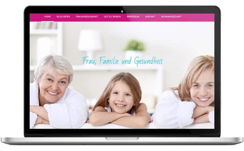 Infoportal Frauengesundheit