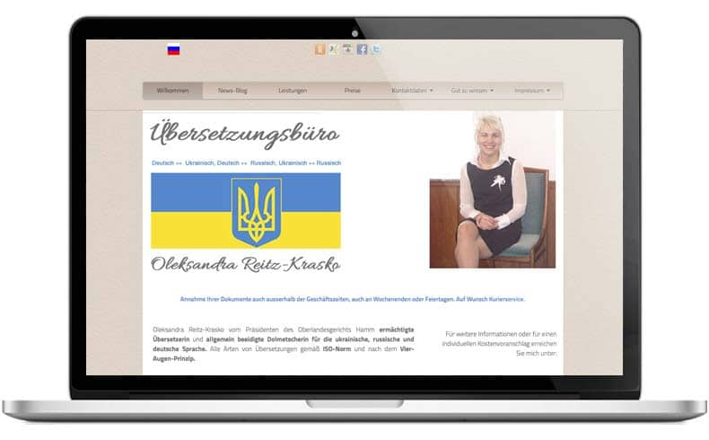 Webprojekt-Chemnitz-übersetzungsbüro
