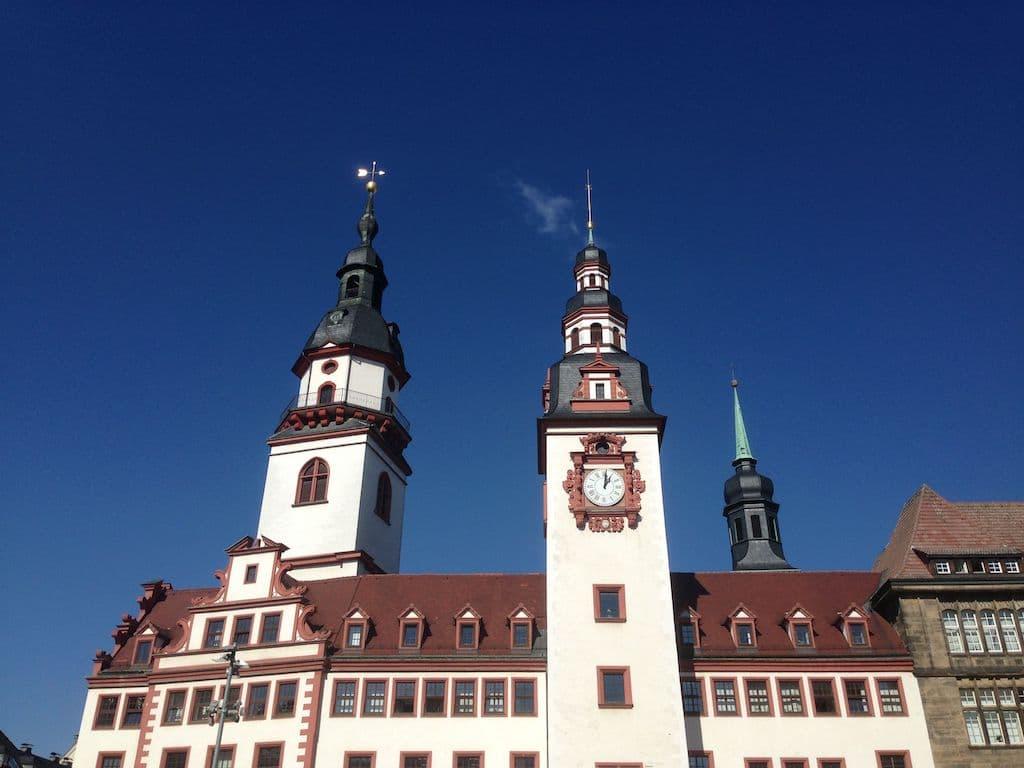 Markt De Regierungsbezirk Chemnitz