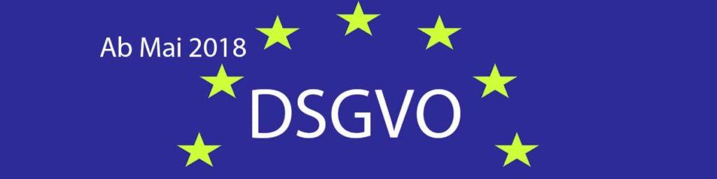 neue EU Datenschutz-Grundverordnung
