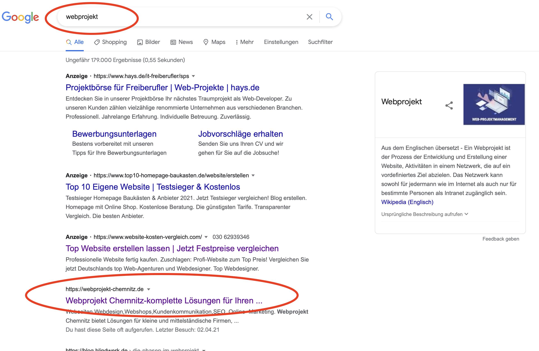 webprojekt-chemnitz-ranking-serp-position1