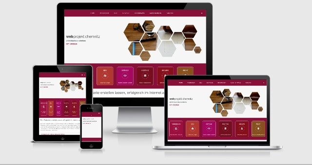 webprojekt chemnitz responsive design